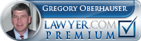 Gregory D. Oberhauser  Lawyer Badge