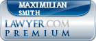 Maximilian Smith  Lawyer Badge