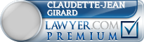 Claudette-Jean Girard  Lawyer Badge