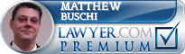 Matthew M. Buschi  Lawyer Badge