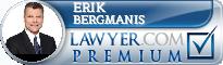 Erik A. Bergmanis  Lawyer Badge