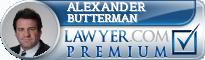 Alexander H. Butterman  Lawyer Badge
