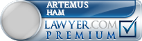 Artemus W. Ham  Lawyer Badge