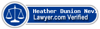 Heather Dunion Neville  Lawyer Badge