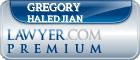 Gregory V. Haledjian  Lawyer Badge