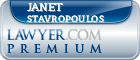 Janet C. Stavropoulos  Lawyer Badge