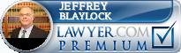 Jeffrey H. Blaylock  Lawyer Badge