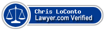 Chris LoConto  Lawyer Badge