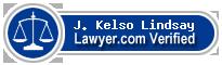 J. Kelso Lindsay  Lawyer Badge