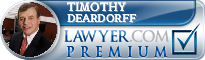 Timothy J Deardorff  Lawyer Badge