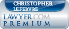 Christopher M. Lefebvre  Lawyer Badge