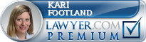 Kari P Footland  Lawyer Badge
