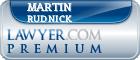 Martin M Rudnick  Lawyer Badge