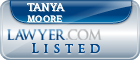 Tanya Moore Lawyer Badge