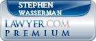 Stephen A. Wasserman  Lawyer Badge