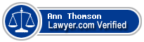 Ann A. Thomson  Lawyer Badge