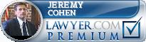 Jeremy M. Cohen  Lawyer Badge