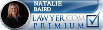 Natalie F. Baird  Lawyer Badge