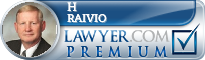 H Scott Raivio  Lawyer Badge