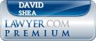 David C. Shea  Lawyer Badge