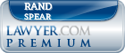 Rand Spear  Lawyer Badge