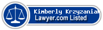 Kimberly Krzyzaniak Lawyer Badge