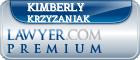 Kimberly J. Krzyzaniak  Lawyer Badge