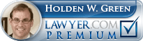 Holden W. Green  Lawyer Badge