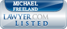 Michael Freeland Lawyer Badge