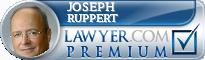 Joseph W Ruppert  Lawyer Badge