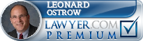 Leonard Charles Ostrow  Lawyer Badge