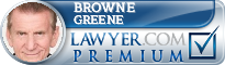 Browne Greene  Lawyer Badge