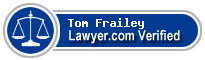 Tom A. Frailey  Lawyer Badge