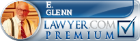 E. Vernon F. Glenn  Lawyer Badge