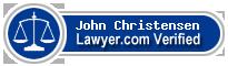 John R. Christensen  Lawyer Badge