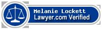 Melanie Lockett  Lawyer Badge