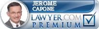 Jerome M. Capone  Lawyer Badge