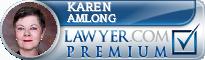 Karen Coolman Amlong  Lawyer Badge