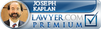 Joseph V. Kaplan  Lawyer Badge