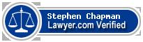 Stephen Jeffrey Chapman  Lawyer Badge