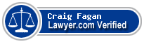 Craig Philip Fagan  Lawyer Badge