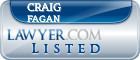Craig Fagan Lawyer Badge