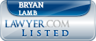 Bryan Lamb Lawyer Badge
