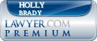 Holly A. Brady  Lawyer Badge