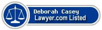 Deborah Casey Lawyer Badge