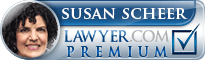 Susan W. Scheer  Lawyer Badge