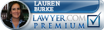 Lauren M. Burke  Lawyer Badge