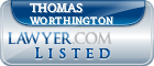 Thomas Worthington Lawyer Badge
