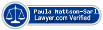 Paula Mattson-Sarli  Lawyer Badge