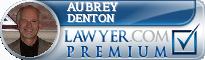 Aubrey E. Denton  Lawyer Badge